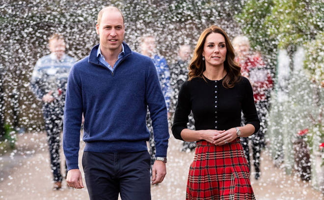 There's a rumoured rift between the Cambridges and the Sussexes