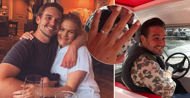 Corrie star James Burrows has proposed to his wife