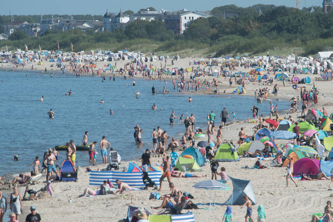 The beaches will likely be very busy this bank holiday