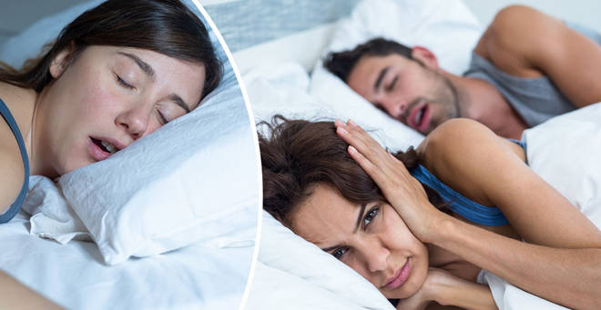 A TV show is looking for snoring partners