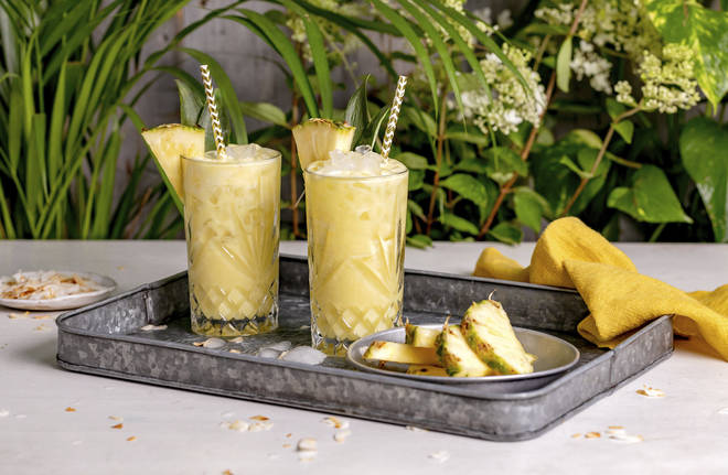 This is a rich twist on a classic pina colada