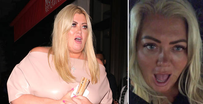 Gemma Collins tried and failed to get out of a parking ticket