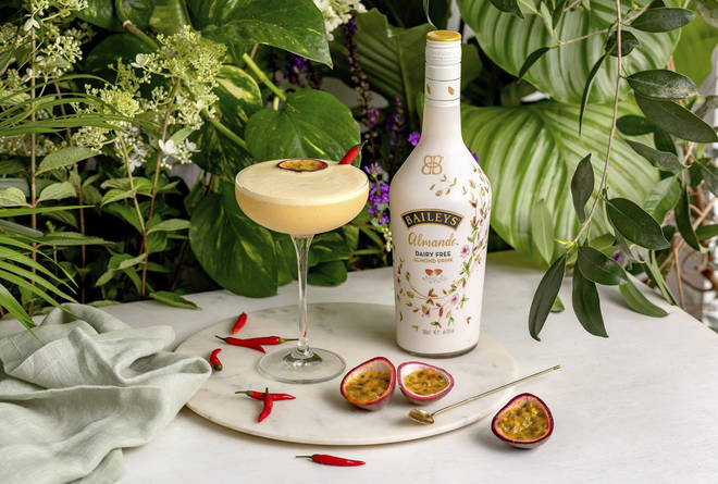 This cocktail packs a passionfruit punch