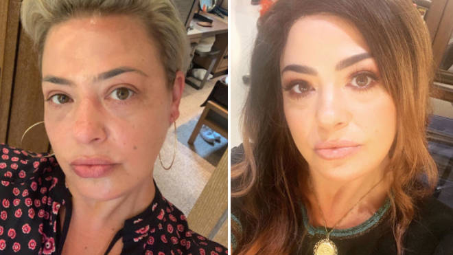 Lisa Armstrong unveils dramatic new look in sultry selfie as she goes brunette