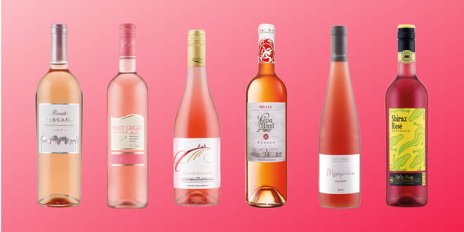 Six rosé wines from dark to light for Bank Holiday BBQs
