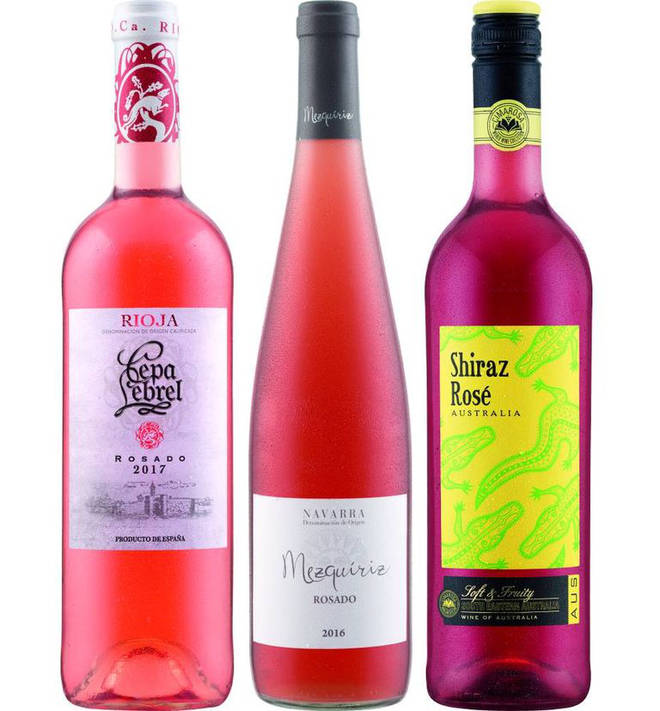 The wide range dispels the myth that pale pink wine reigns supreme.