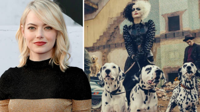 Disney FIRST LOOK as Emma Stone transforms into evil Cruella De Vil for live-action movie