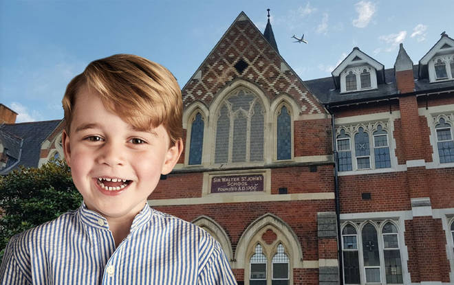 Prince George is undoubtedly excited to head back to school