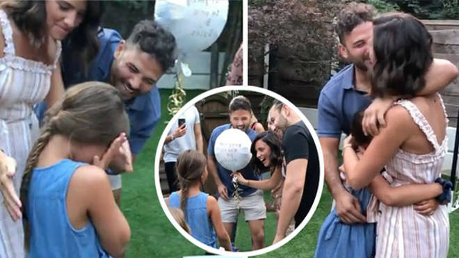 Ryan Thomas' daughter Scarlett was left emotional by the news