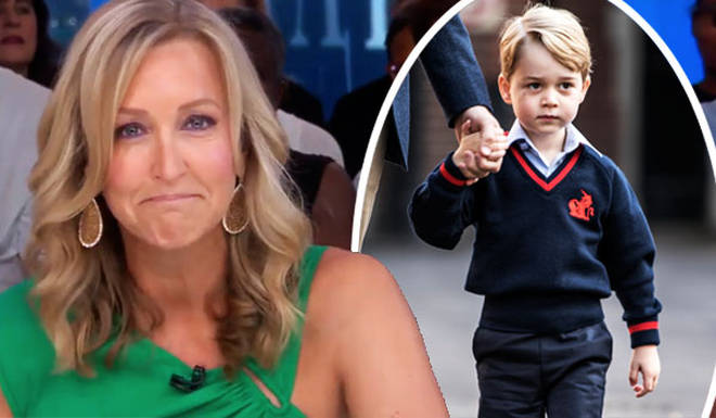 Lara Spencer caused outrage with her comments about Prince George doing ballet