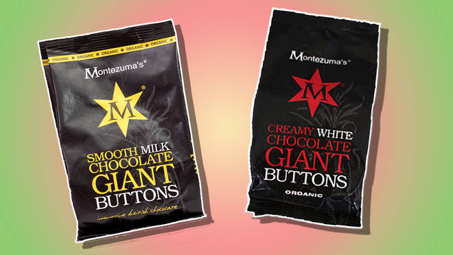 Montezuma's chocolate buttons are deliciously rich - and great for sharing