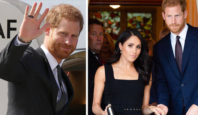 Prince Harry and Meghan Markle could be set to pack their bags and move abroad