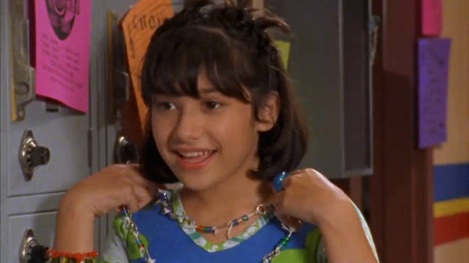 Lalaine was Lizzie's BFF on the show