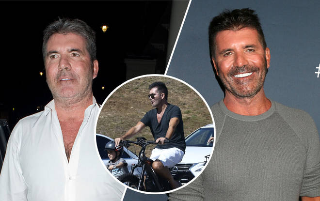 Simon Cowell has debuted a huge weight loss recently