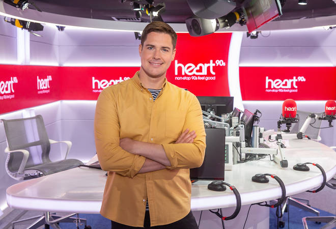 Join Kevin Hughes for Heart 90s Breakfast