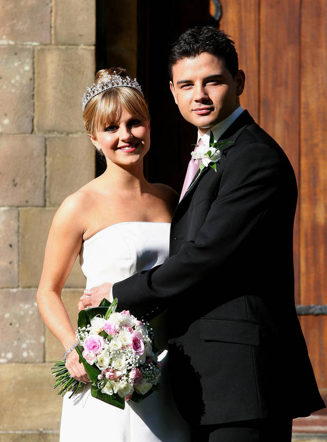 Tina and Ryan's Corrie character's got married