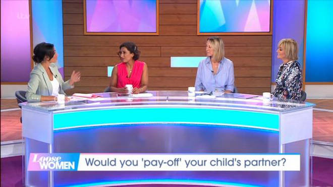 Christine spoke about her relationship on Loose Women earlier today