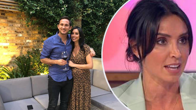 Christine Lampard has opened up about her relationship with Frank