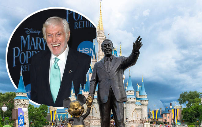 Disney legend Dick Van Dyke was involved