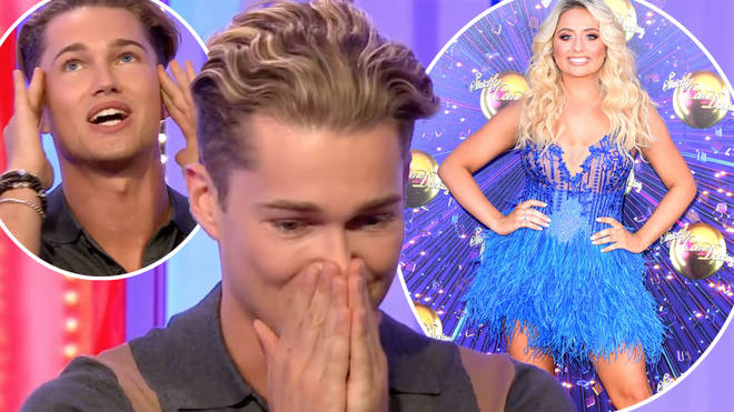 AJ Pritchard appeared to let slip who he is teamed up with for this series of Strictly Come Dancing
