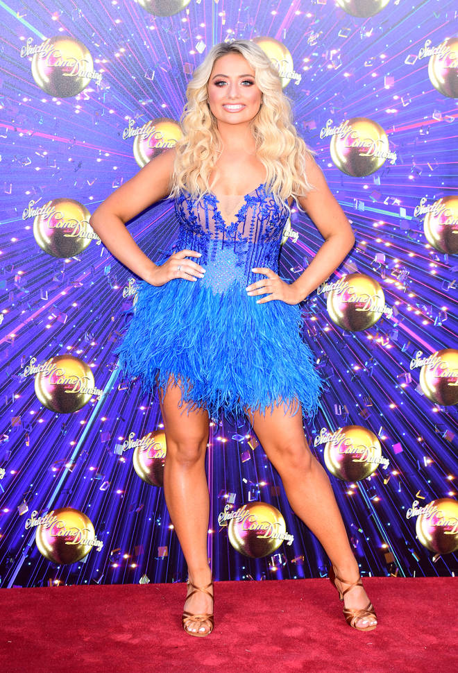 Saffron Barker is one of the many celebrities starring in this year's Strictly