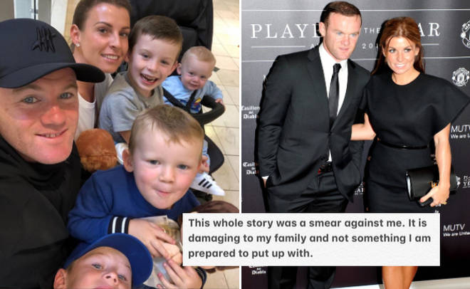 Wayne Rooney insists he did not cheat with girl at hotel in shock statement.