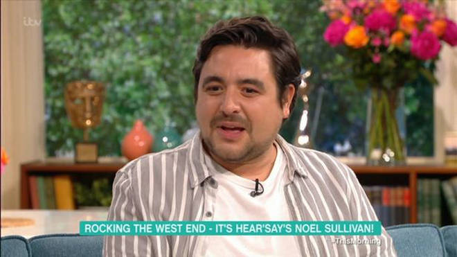 The pop star explains why he's put on two stone.