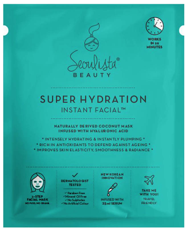 Seoulista's Beauty Super Hydration Instant Facial, £7.99