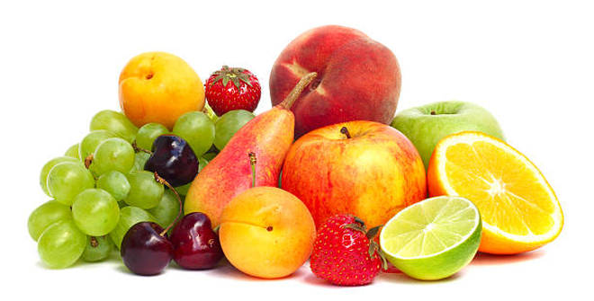 Encourage your kids to eat two pieces of fruits and three pieces of vegetables a day
