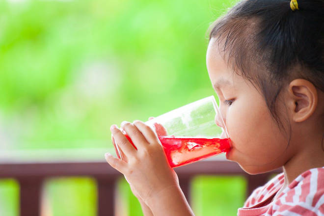 Try to keep sugary drinks to a minimum
