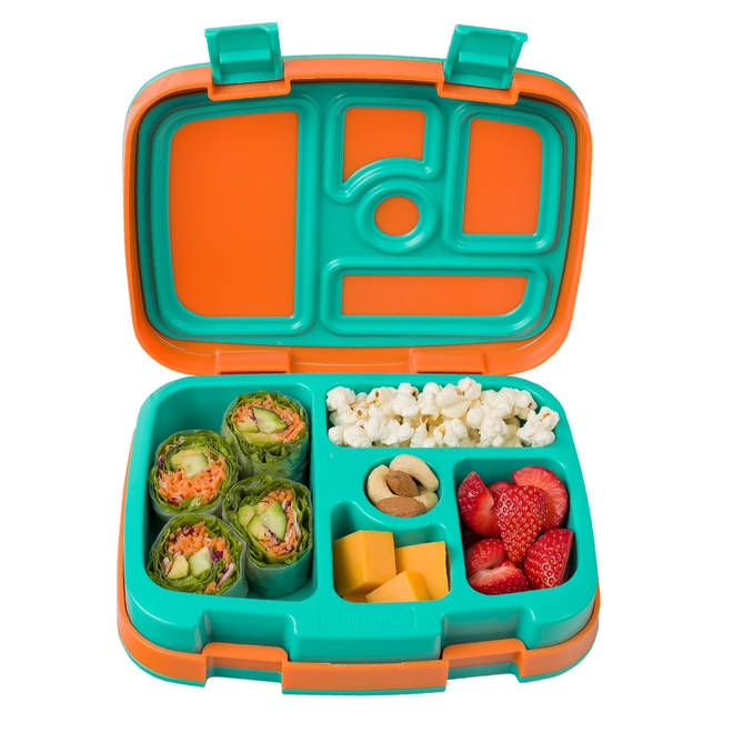 It's all about colour and variety in their lunchbox