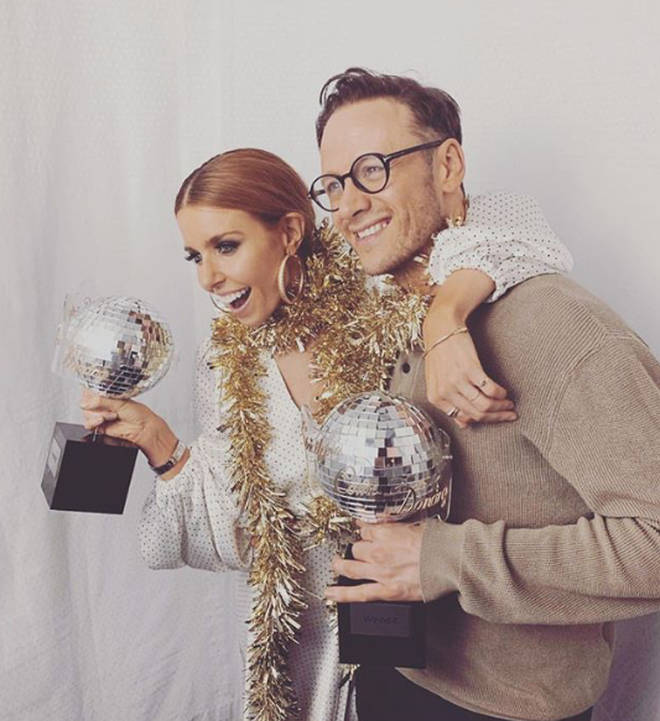 Stacey and Kevin won the show last year as well as the nation's hearts