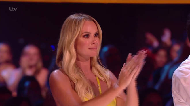 Amanda was reduced to tears by Kseniya's performance
