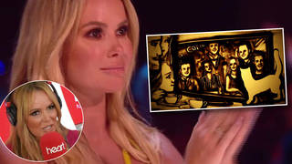 Amanda Holden was visibly moved by the Ukrainian artist