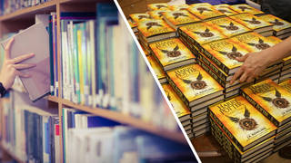 One school has banned Harry Potter from their library
