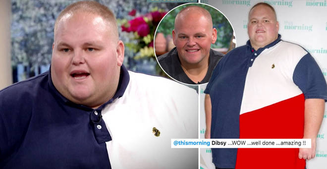 Dibsy looks like a totally different person after losing 19 stone