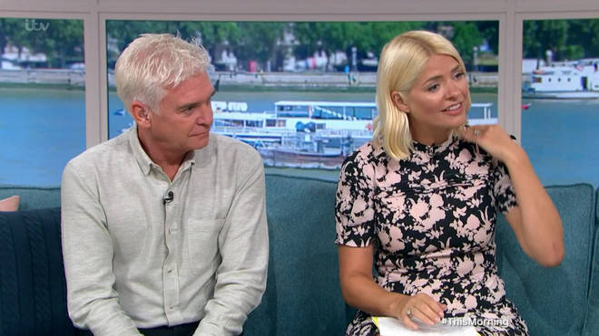Holly and Phil vowed to help raise money for Dibsy's excess skin surgery