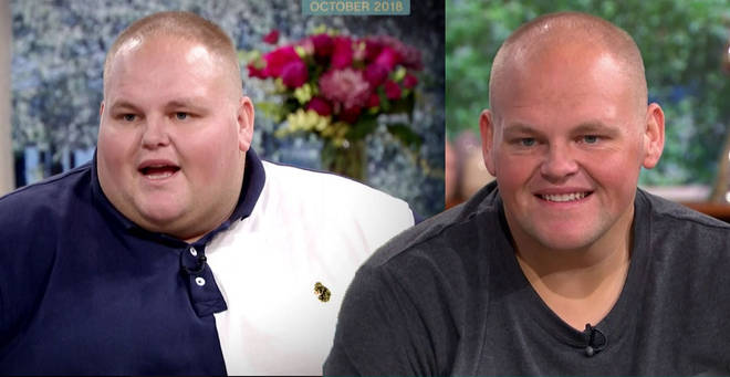 Dibsy's personal trainer Mike helped him lose 19 stone
