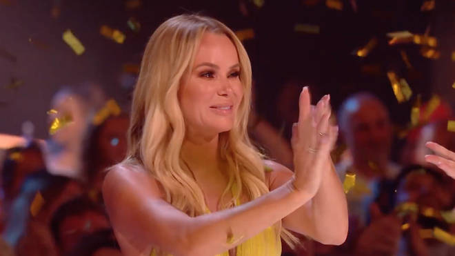 Amanda Holden was left emotional by her golden buzzer act