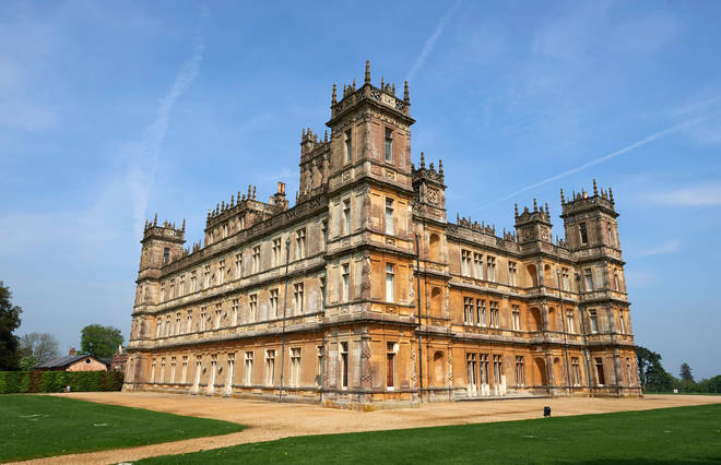 The Crawley family from Downton Abbey live in the beautiful Highclere Castle in Hampshire