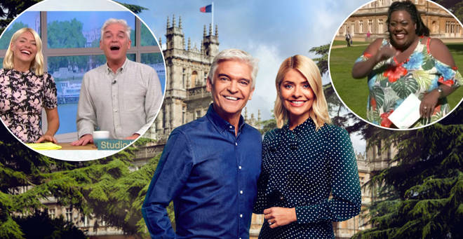 Holly and Phil will be presenting from Downton Abbey's filming location