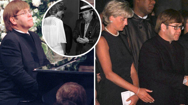 Elton John paid tribute to Princess Diana 22 years after her death