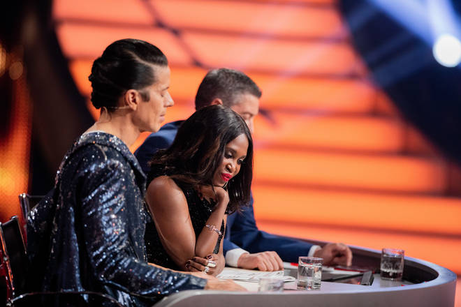 Motsi was a judge on the German version of Strictly