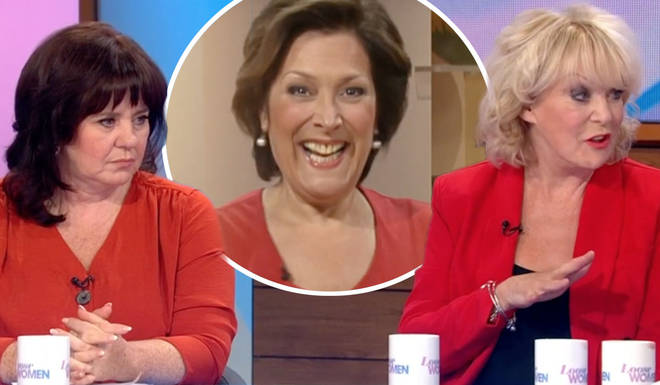 Loose Women paid tribute to the star, leaving viewers emotional