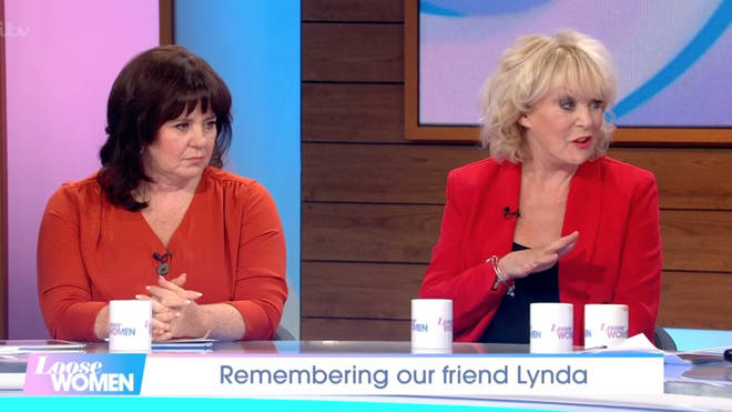 The Loose Women stars shared their favourite memories with Lynda