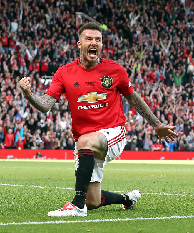 Becks has enjoyed an incredible football career, for which he's still reaping the benefits