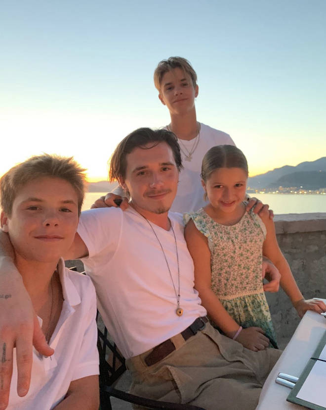 David and Victoria are parents to four gorgeous children