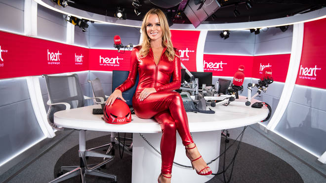 Amanda Holden will be taking to the skies for Global's Make Some Noise