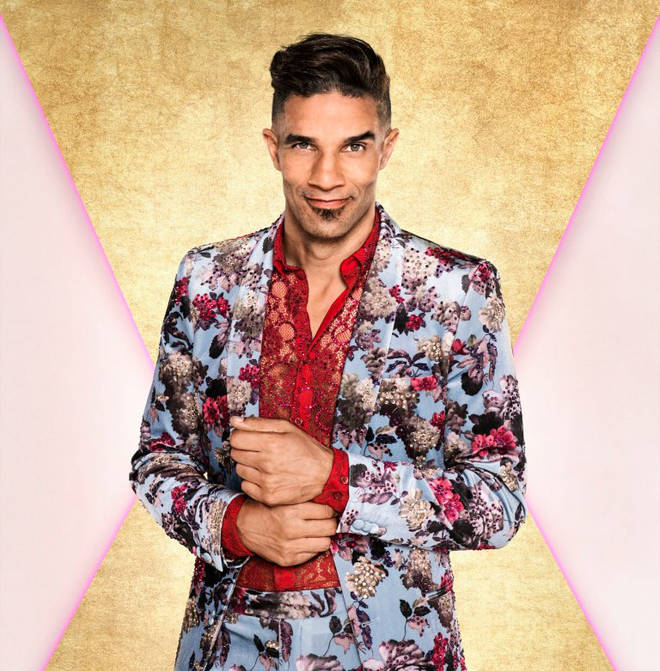 David James is swapping the footballs for the glitter