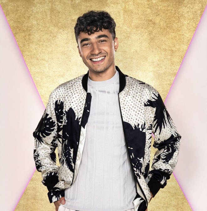 CBBC presenter Karim is one of the youngest contestants